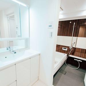 ダイアパレス西浅草グランマジェスト(4階,5280万円)の化粧室・脱衣所・洗面室