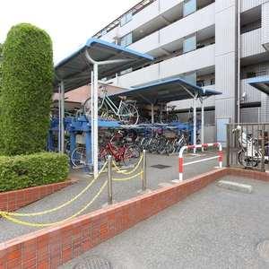 エンゼルハイム桜台の駐輪場