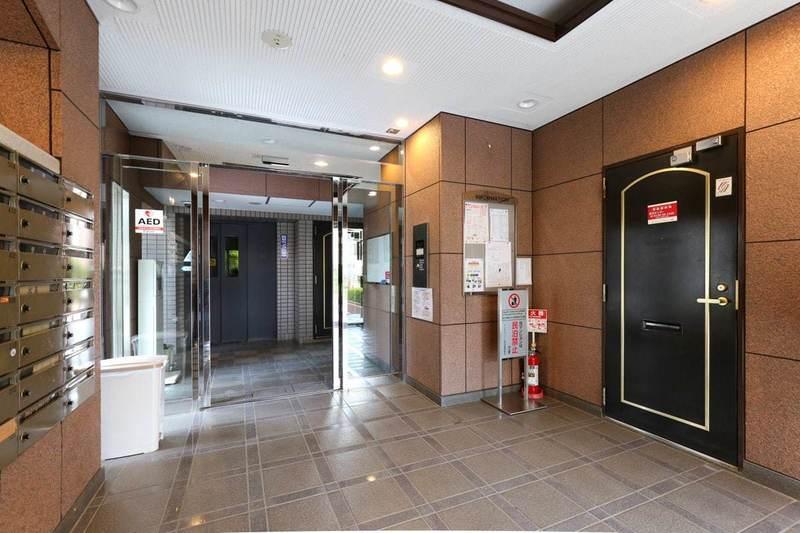 エンゼルハイム桜台のマンションの入口・エントランス1枚目