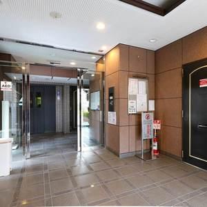 エンゼルハイム桜台のマンションの入口・エントランス