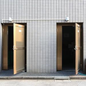 エンゼルハイム桜台のごみ集積場