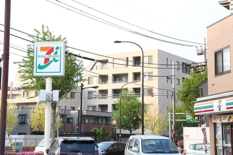 エンゼルハイム桜台の周辺の食品スーパー、コンビニなどのお買い物1枚目