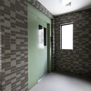 モアグランデ池袋西(2階,4199万円)のフロア廊下(エレベーター降りてからお部屋まで)