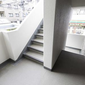 モアグランデ池袋西(2階,)のフロア廊下(エレベーター降りてからお部屋まで)
