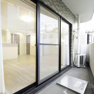 モアグランデ池袋西(2階,4199万円)のバルコニー
