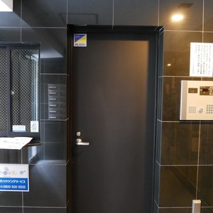 ミルーナヒルズ錦糸町のエレベーターホール、エレベーター内