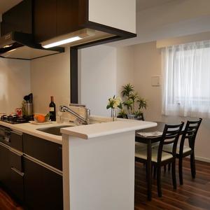 ミルーナヒルズ錦糸町(6階,4599万円)のキッチン