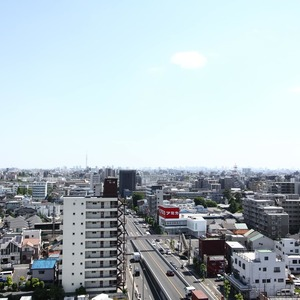 ザパームス竹ノ塚(13階,)のお部屋からの眺望