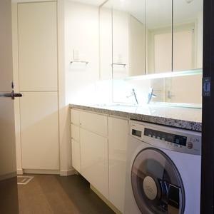 プリズムタワー(6階,6500万円)の化粧室・脱衣所・洗面室