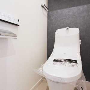 クレセントマンション(8階,)のトイレ