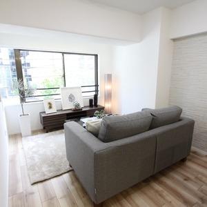 メイツ新宿なつめ坂(2階,4380万円)の居間(リビング・ダイニング・キッチン)