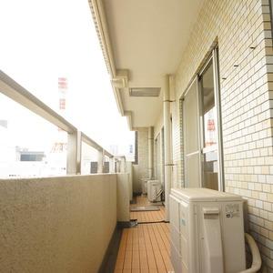 朝日六番町マンション(8階,)のバルコニー