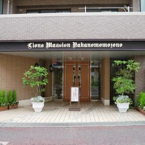 ライオンズマンション中野桃園のマンションの入口・エントランス