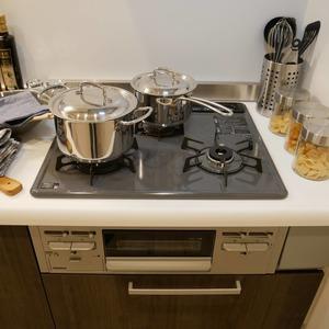 ライオンズマンション中野桃園(1階,5187万円)のキッチン