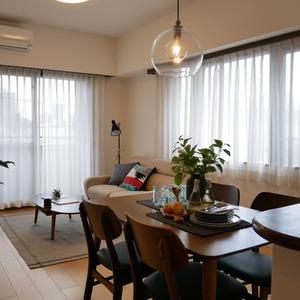 コスモ中野(4階,5899万円)の居間(リビング・ダイニング・キッチン)