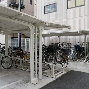 グローリオ錦糸町の駐輪場