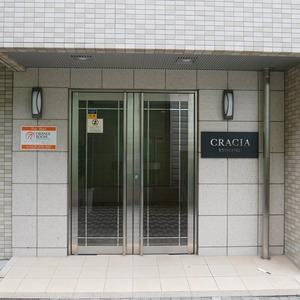 クレイシア両国のマンションの入口・エントランス
