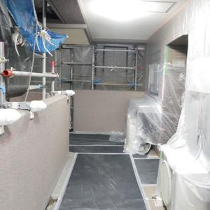 コスモ両国グランシティ(2階,4580万円)のフロア廊下(エレベーター降りてからお部屋まで)