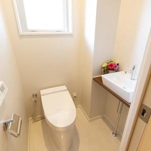 シェモワ新宿(5階,4599万円)のトイレ