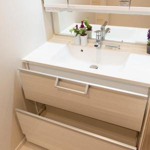 シェモワ新宿(5階,4599万円)の化粧室・脱衣所・洗面室