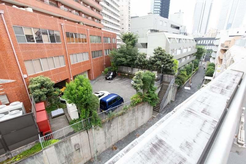 シェモワ新宿のお部屋からの眺望1枚目