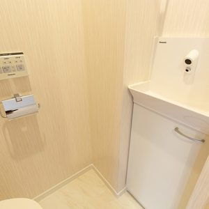 クレスト中野坂上(4階,)のトイレ