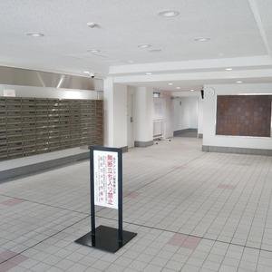 秀和亀戸天神橋レジデンスのマンションの入口・エントランス