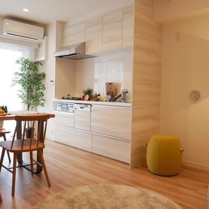 シティポート錦糸町2(8階,4599万円)の居間(リビング・ダイニング・キッチン)