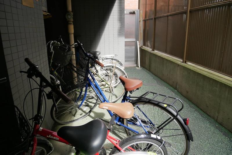 シティポート錦糸町2の駐輪場1枚目