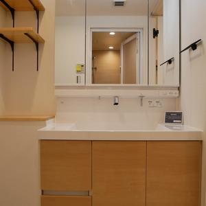 秀和亀戸天神橋レジデンス(2階,3390万円)の化粧室・脱衣所・洗面室