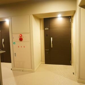 パークホームズ目黒ザレジデンス(4階,1億1200万円)のフロア廊下(エレベーター降りてからお部屋まで)