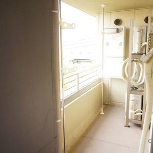 パークホームズ目黒ザレジデンス(4階,1億1200万円)のバルコニー