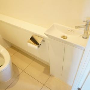 パークホームズ目黒ザレジデンス(4階,1億1200万円)のトイレ