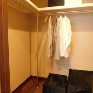 グレディール赤坂(2階,)のウォークインクローゼット
