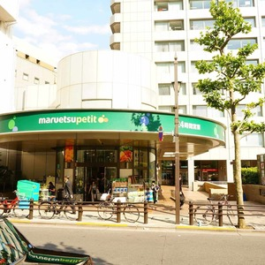 グレディール赤坂の周辺の食品スーパー、コンビニなどのお買い物