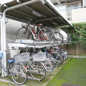オーベル本所吾妻橋の駐輪場