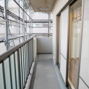 オーベル本所吾妻橋(4階,5499万円)のバルコニー
