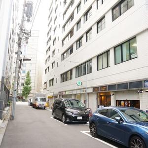 神田小川町ハイツのマンションの入口・エントランス