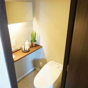 ファミールグラン白金ヴェルデフォーレ(8階,)のトイレ
