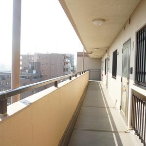 アドリーム文京動坂(14階,6590万円)のフロア廊下(エレベーター降りてからお部屋まで)