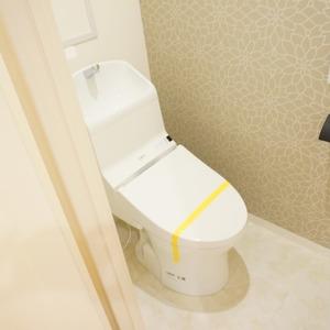アドリーム文京動坂(14階,6590万円)のトイレ