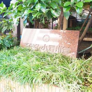 マンション小石川台のマンションの入口・エントランス