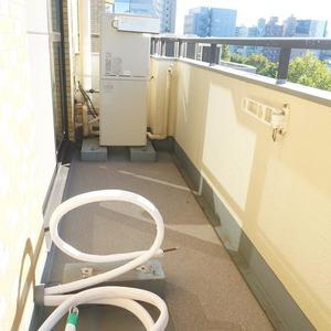 マンション小石川台(6階,)のバルコニー