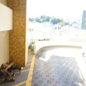 マンション小石川台の駐輪場