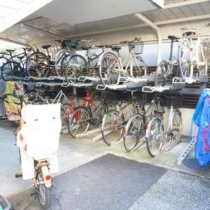 ライオンズマンション小石川植物園の駐輪場