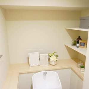 ライオンズマンション小石川植物園(7階,)のトイレ