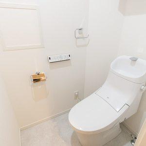 三ノ輪アムフラット(2階,3799万円)のトイレ