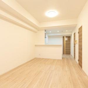 三ノ輪アムフラット(2階,3799万円)の居間(リビング・ダイニング・キッチン)