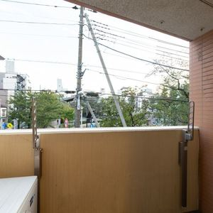 三ノ輪アムフラット(2階,3799万円)のバルコニー