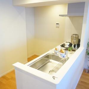 マージュ市谷柳町(9階,)のキッチン